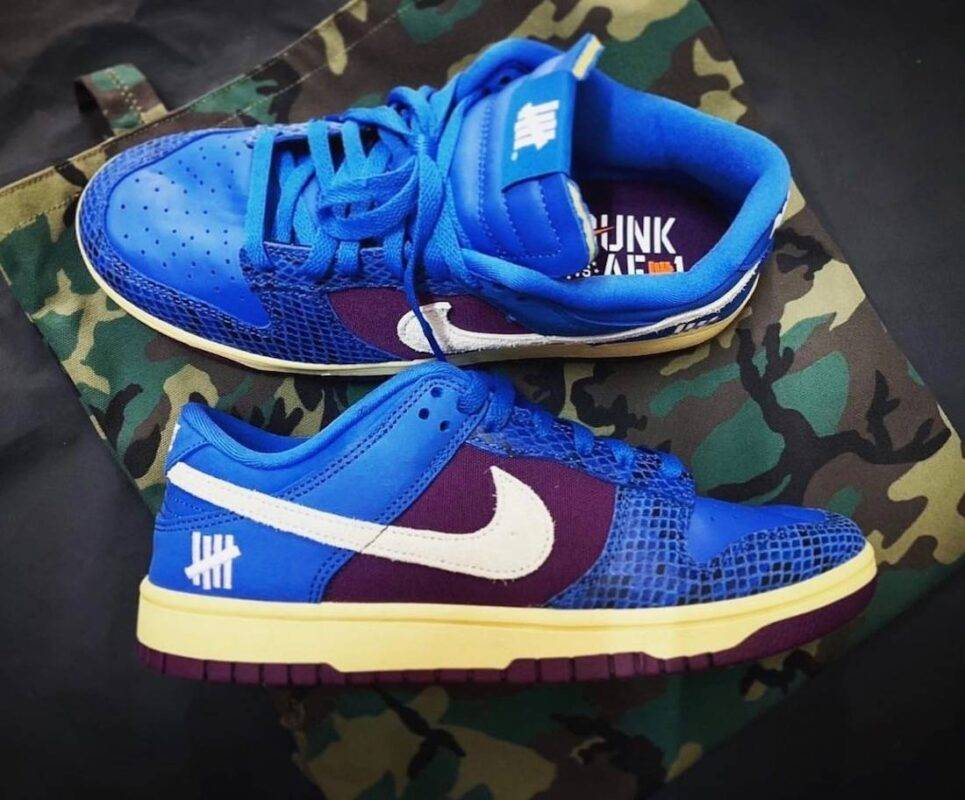 Undefeated x Nike, Nike Dunk Low, Air Force 1 Low, Air Force 1