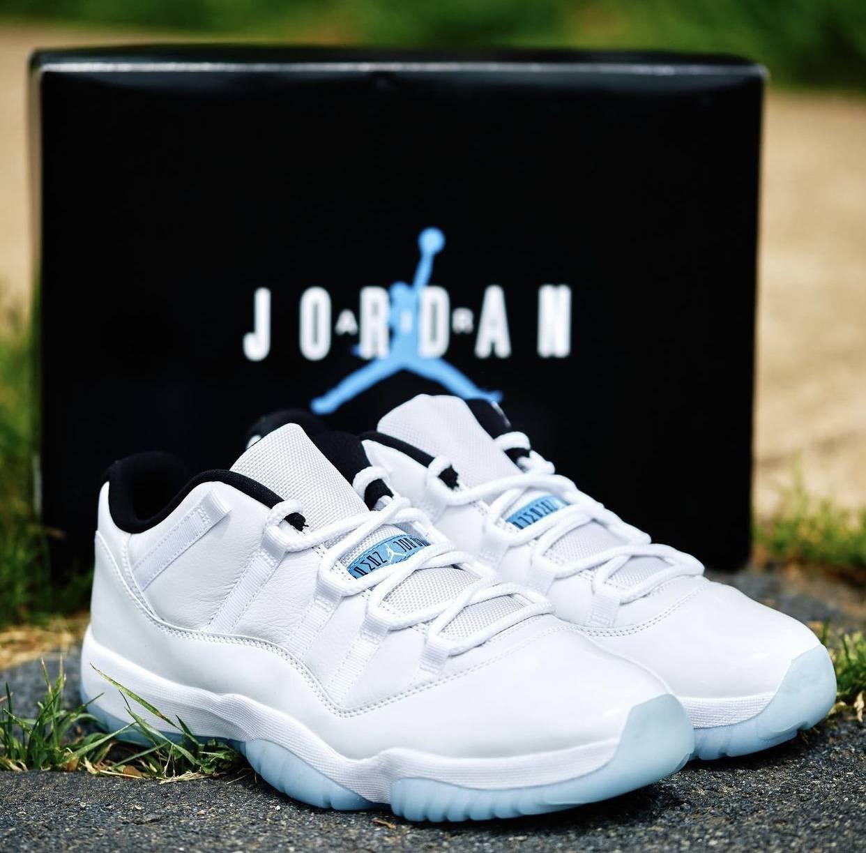 """AV2187-117, Air Jordan 11 Low"""" Legend Blue"""", Air Jordan 11, Air Jordan 1"""