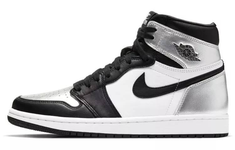 """乔丹 Air Jordan 1 High OG Retro """"Silver Toe"""" 中帮 黑银脚趾 CD0461-001缩略图"""