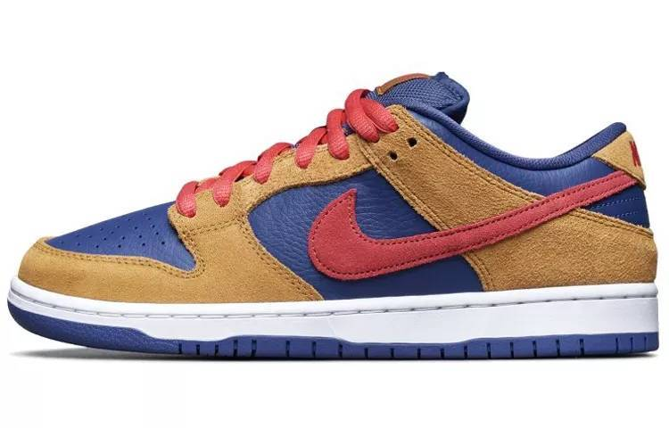 """耐克 Nike SB Dunk Low Pro """"Papa Bear"""" 棕红蓝 小熊爸爸 男女同款 BQ6817-700缩略图"""