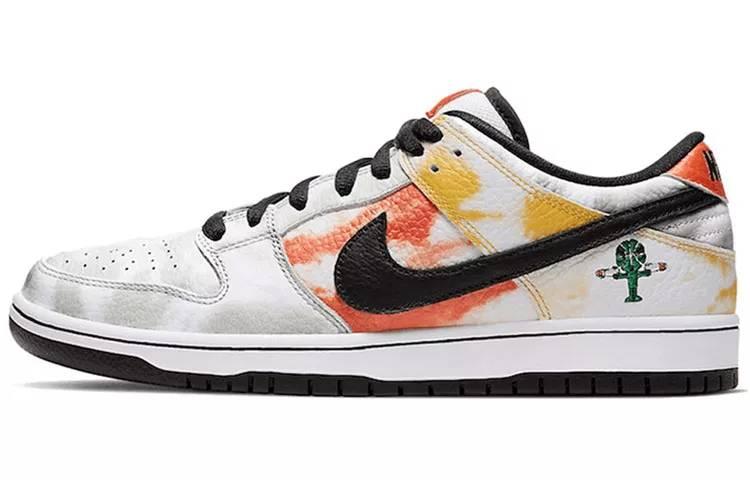"""耐克 Nike SB Dunk Low Pro QS """"Roswell Raygun"""" 白扎染 外星人 男女同款 BQ6832-101缩略图"""