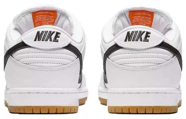 """耐克 Nike SB Dunk Low Pro Iso """"Orange Label"""" 白黑 CD2563-100-"""