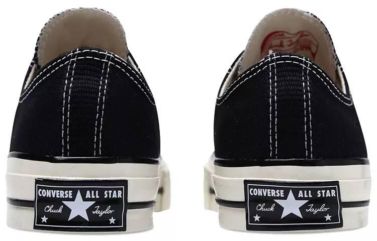 匡威 Converse All Star 70 经典复古黑 1970s 2018款 男女同款 162058C-