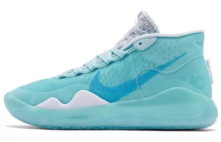 """Nike Zoom KD 12 """"Blue Gaze"""" EP 凝蓝 实战篮球鞋 AR4230-400-"""