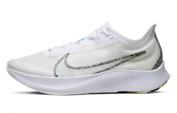 耐克 Nike Zoom Fly 3 糖果白 BV7778-100-