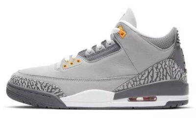Cool Grey, Air Jordan 3