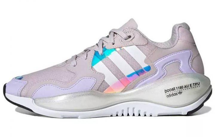 阿迪达斯 adidas originals Zx Alkyne W女款 紫白 FY5384-
