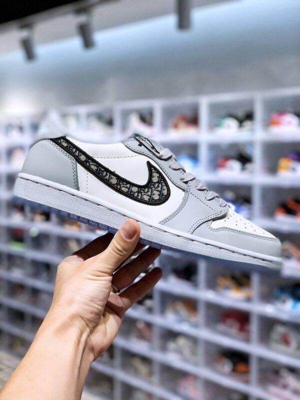 迪奥联名, Dior x Air Jordan 1 Low, AJ1, Air Jordan 1 Low, Air Jordan 1