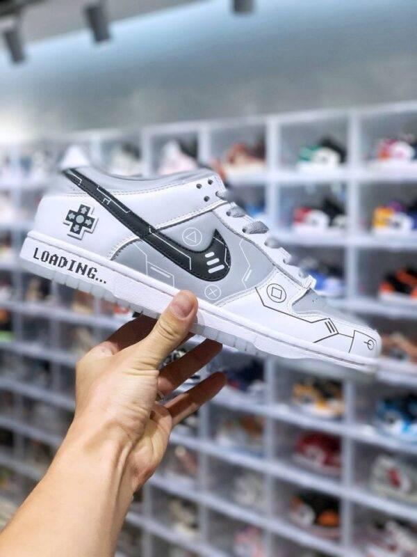 立体按键, 电玩元素, 球鞋, 板鞋, Nike Dunk Low, DD1768-400