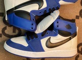 潮鞋, Storm Blue, Air Jordan 1 KO, Air Jordan 1