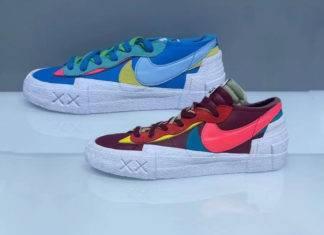 Nike Blazer Low, Kaws x Sacai x Nike