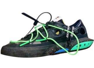 Sacai X NIKE, Off-White x Nike, Nike Blazer Low