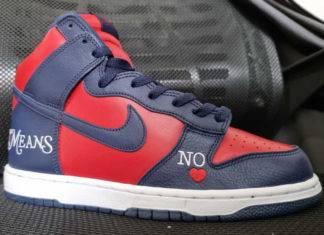 潮鞋, Supreme x Nike, Nike SB Dunk High