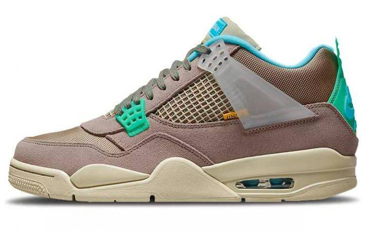 """乔丹 Union LA x Air Jordan 4 """"Taupe Haze"""" 灰褐 30周年 DJ5718-242缩略图"""